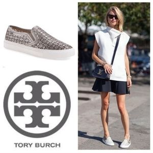 Tory Burch perforated slip-on slip-on sneakers